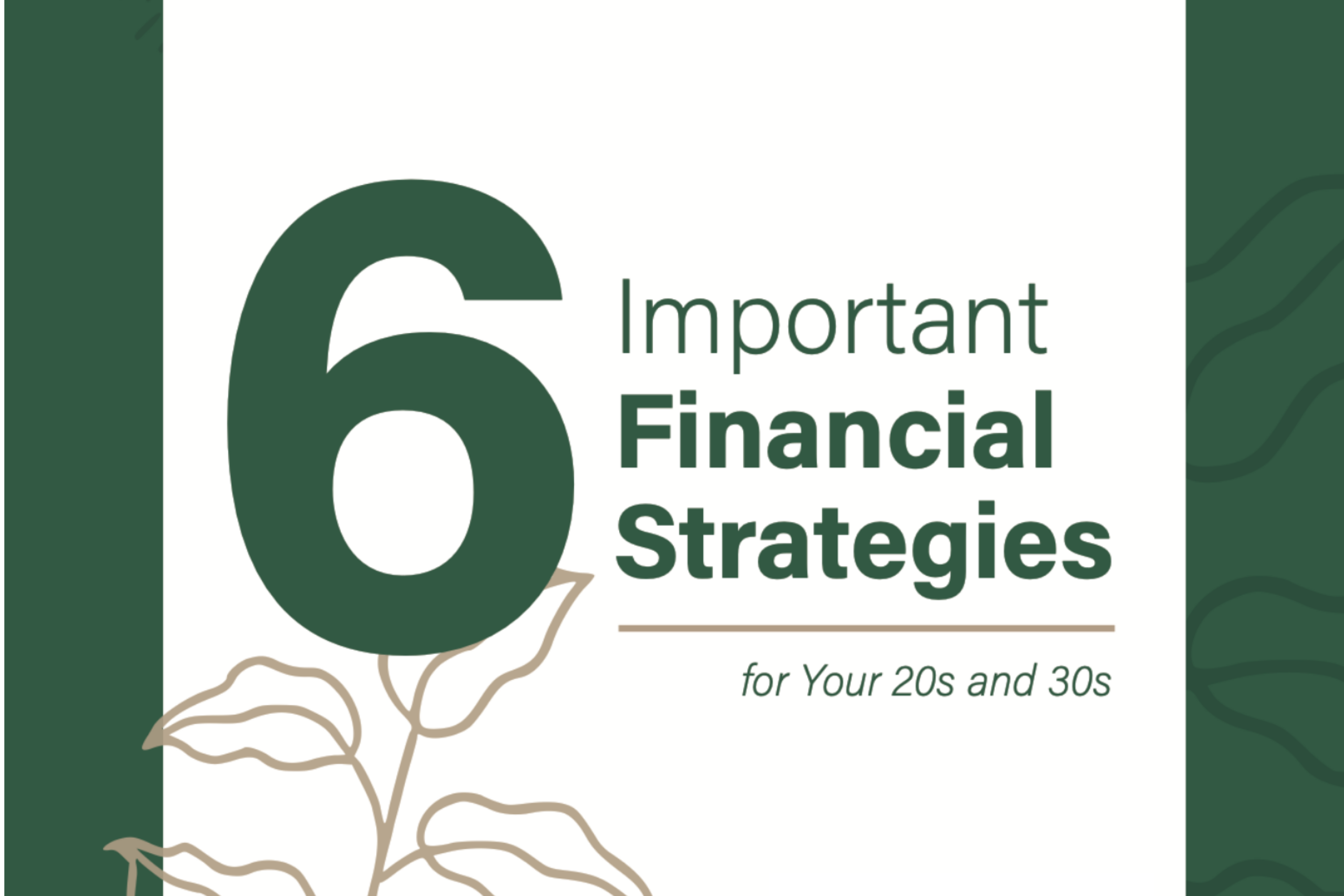 6 Important Financial Strategies